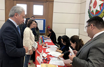 SCO Observer Mission is monitoring the presidential election in Azerbaijan