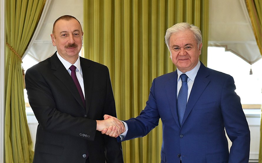 SCO Secretary-General meets with President Aliyev of Azerbaijan