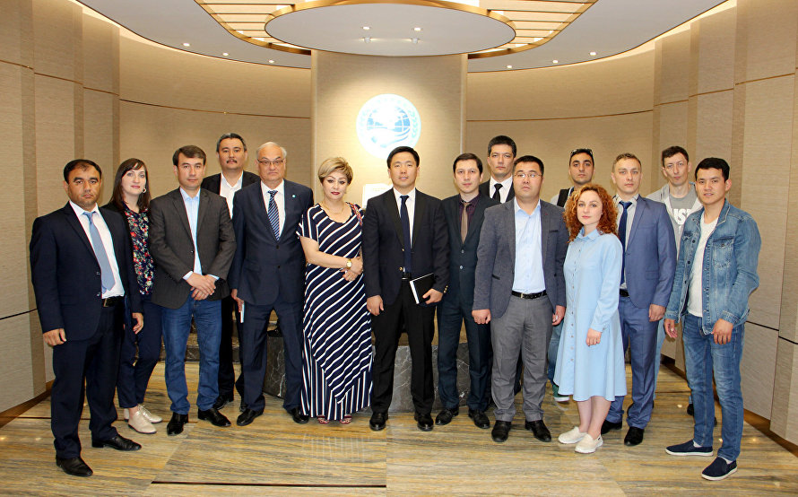 SCO Beijing Headquarters hosts meeting with journalists one month before SCO Summit in Qingdao