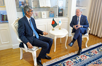 SCO Secretary-General receives Bangladeshi Ambassador to China