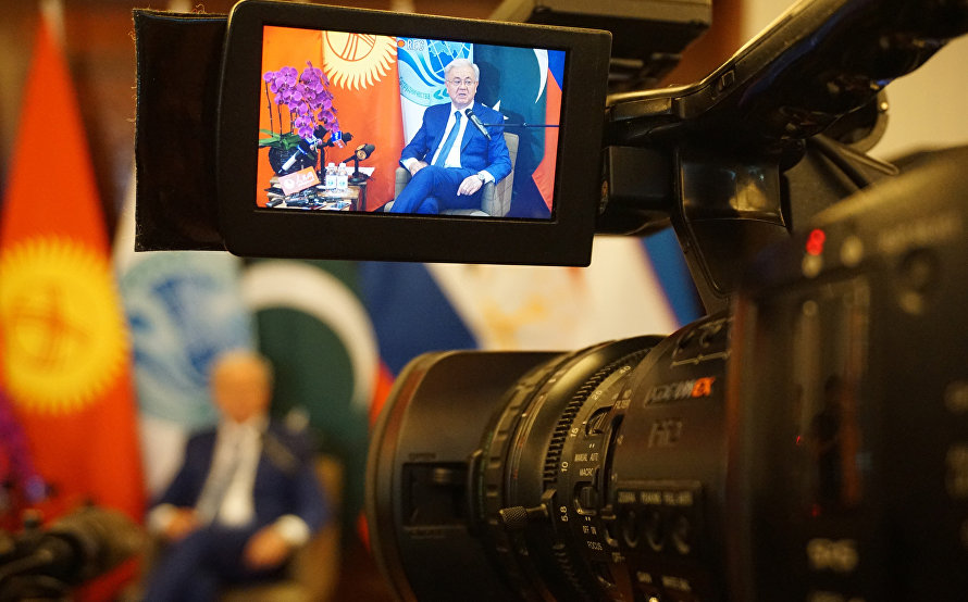 SCO Secretary-General held a meeting with representatives of the leading Chinese media