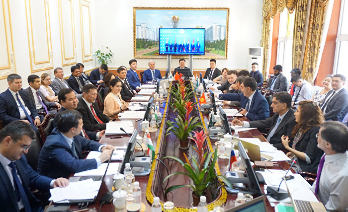 The meeting of the SCO Council of National Coordinators in Beijing