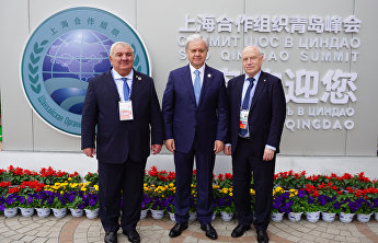 SCO Secretary-General meets with top administrative officials of the CIS and CSTO in Qingdao
