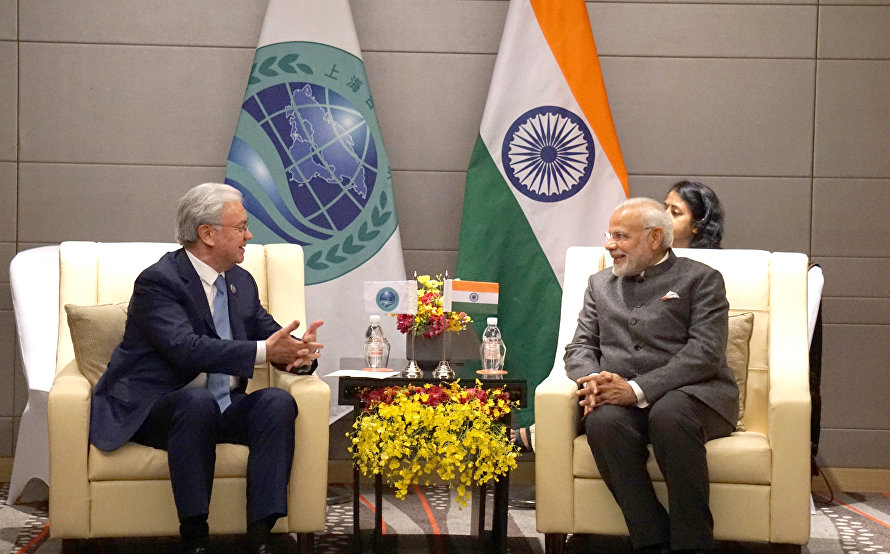 Meeting with Prime Minister of India Narendra Modi