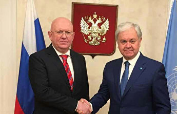 SCO Secretary-General meets with President of the UN Security Council