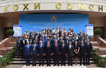 "SCO Secretary-General takes part in international conference ""Water for Sustainable Development,"" 2018-2028, Dushanbe"