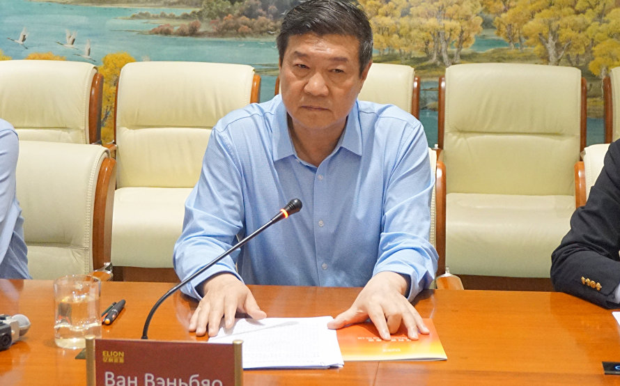 Elion Chairman and President Wang Wenbiao