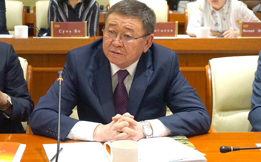 Mongolian Ambassador Extraordinary and Plenipotentiary Damba Gankhuyag