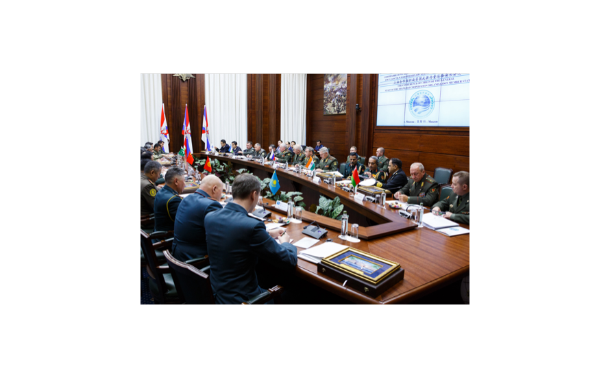 Moscow hosted a Meeting of the Chiefs of the General Staffs of the Armed Forces of the SCO Member States