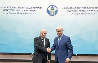 SCO Secretary-General and CIS Executive Secretary compare notes in Dushanbe