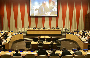 SCO representatives attend debates at UN HQ on regional organisations' role in conflict prevention