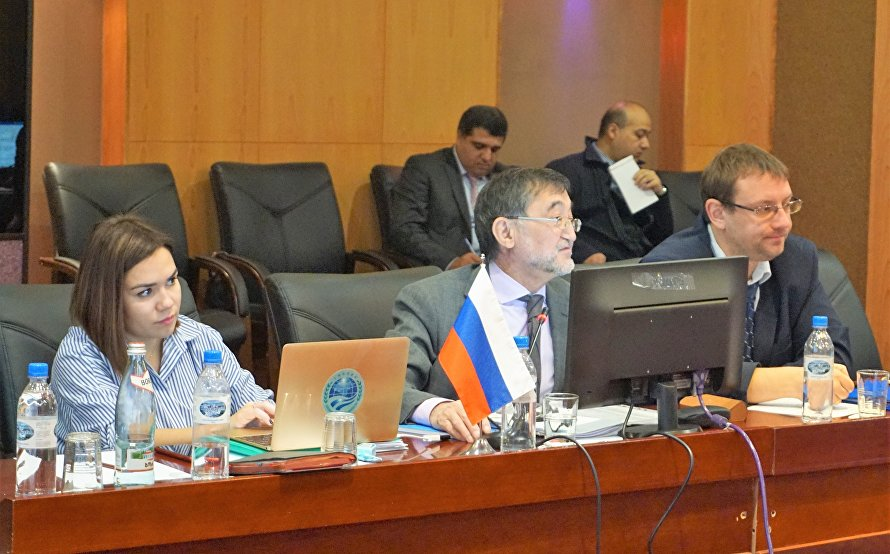 A meeting of the Council of National Coordinators of the Shanghai Cooperation Organisation