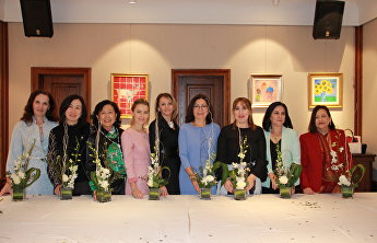 The SCO Women's Club held its autumn meeting dedicated to Chinese culture