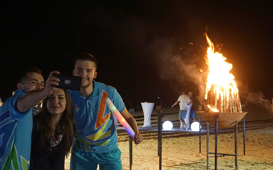 The Bonfire of Friendship of the SCO countries' youth