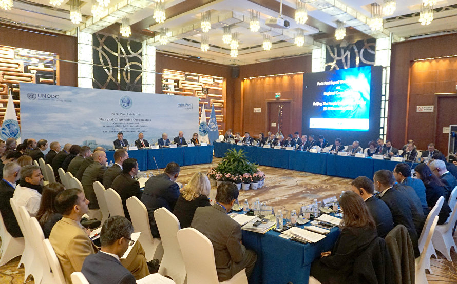 The SCO broadens cooperation with the Paris Pact Initiative