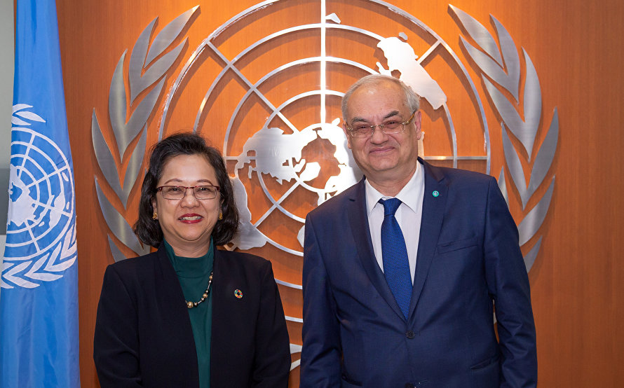 SCO Deputy Secretary-General meets with UNESCAP Executive  Secretary in Bangkok