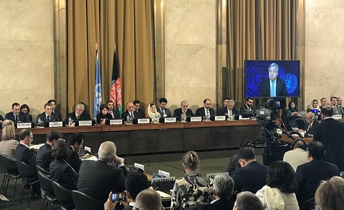 Ministerial Conference on Afghanistan in Geneva