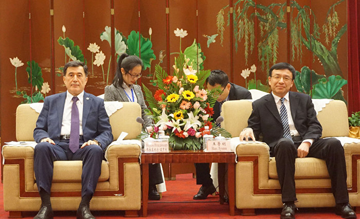 SCO Secretary-General meets with Secretary of Weihai CPC City Committee