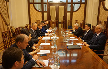 SCO Secretary-General meets with Adviser to Russian President Anton Kobyakov