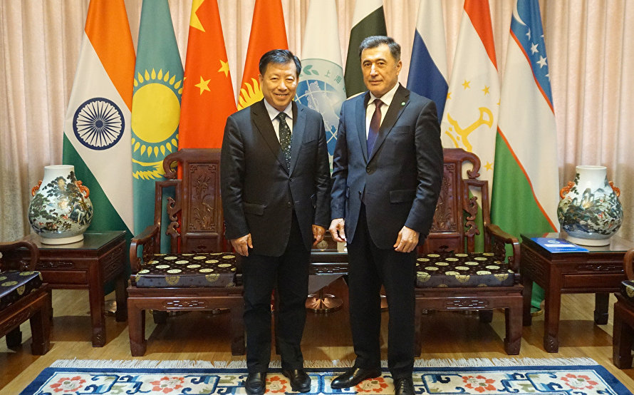 SCO Secretary-General meets with Lianyungang delegation led by Mayor