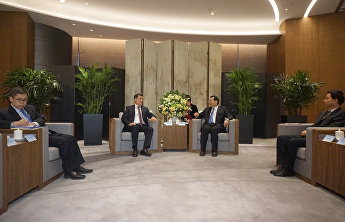 SCO Secretary-General meets with CPC Shaanxi Committee Secretary Hu Heping