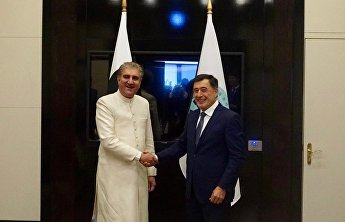 SCO Secretary-General meets with Foreign Minister of Pakistan