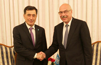 SCO Secretary-General meets with UN Counter-Terrorism Office head