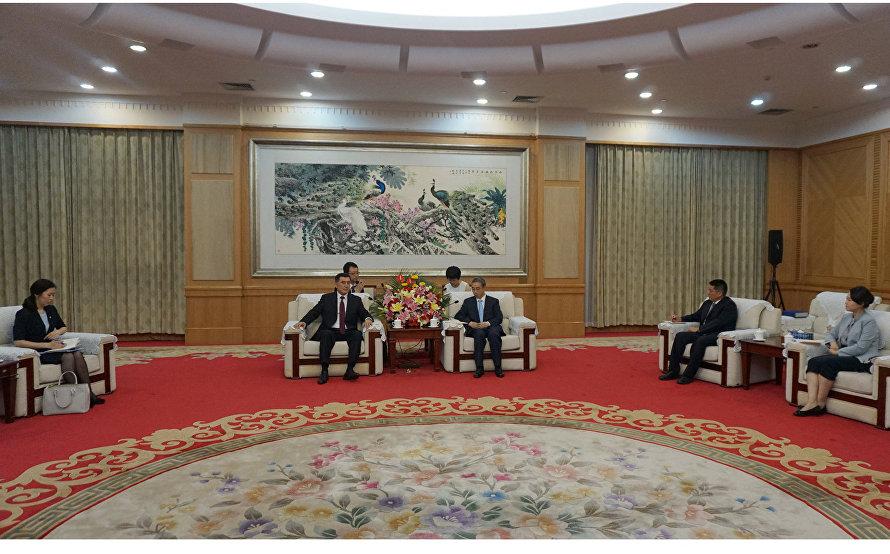 SCO Secretary-General meets with Yunnan Province Vice-Governor Chen Shun