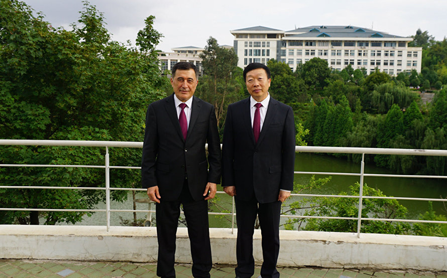 SCO Secretary-General meets with Communist Party Secretary of Kunming