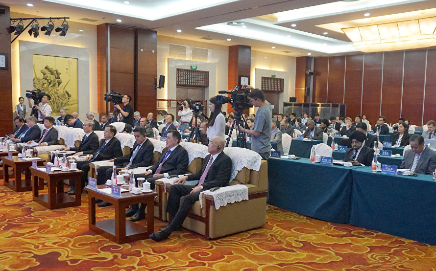 SCO Secretary-General attends second conference of the Chinese People's Association for Peace and Disarmament