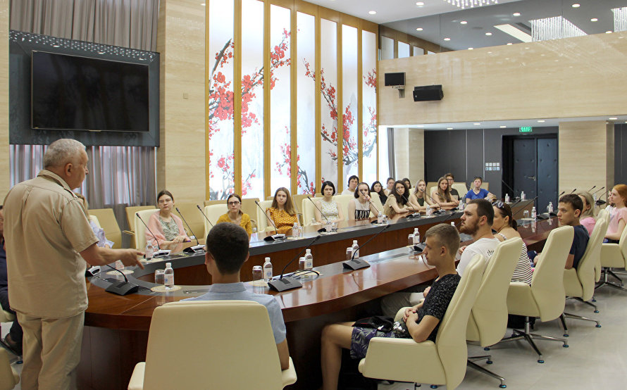Lecture at the SCO Secretariat for Higher School of Economics faculty and students
