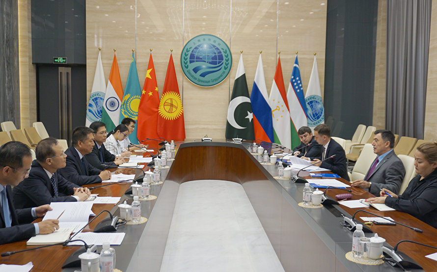 SCO Secretary-General meets with a delegation from Chinese Shaanxi province's Yangling Demonstration Zone