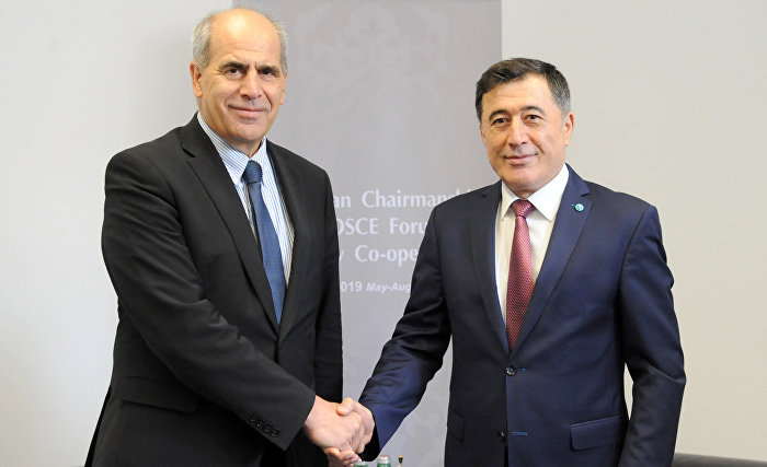 SCO Secretary-General meets with EU Special Representative for Central Asia