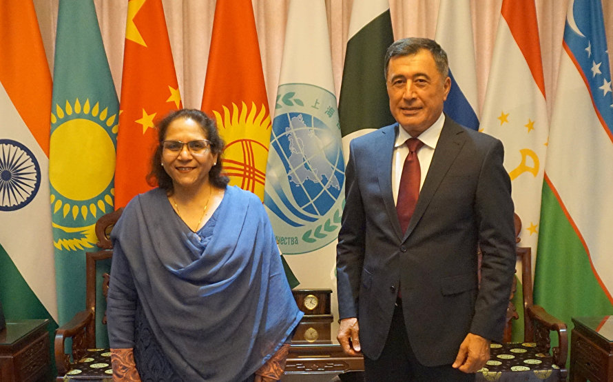 SCO Secretary-General meets with newly-appointed Islamic Republic of Pakistan Ambassador to China