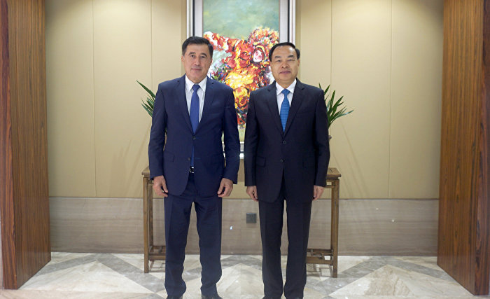 SCO Secretary-General Vladimir Norov meets with Chongqing Mayor Tang Liangzhi
