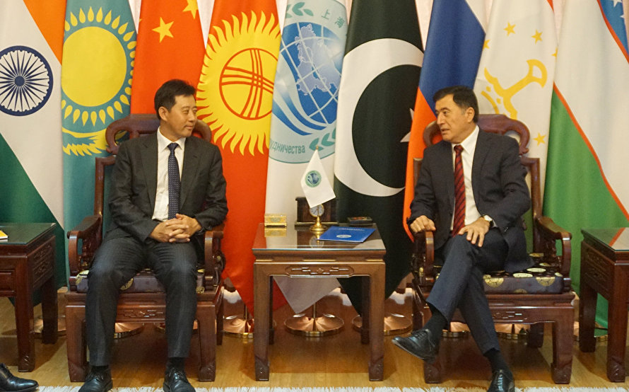 SCO Secretary-General meets with Austrian and Chinese academia