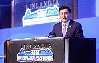 Vladimir Norov: Tourism is one of the key factors of socio-economic progress. SCO Secretary-General spoke at the 8th summit of the World Tourism Cities Federation