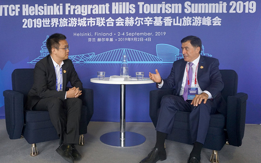 SCO Secretary-General discusses smart tourism cooperation with Tencent Culture & Tourism General Manager