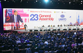 SCO Secretariat attends session of the UNWTO General Assembly