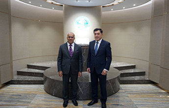 SCO Secretary-General meets with Ambassador of United Arab Emirates to China