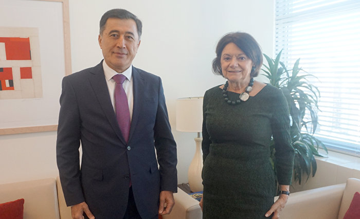 SCO Secretary-General meets with UN Under-Secretary-General