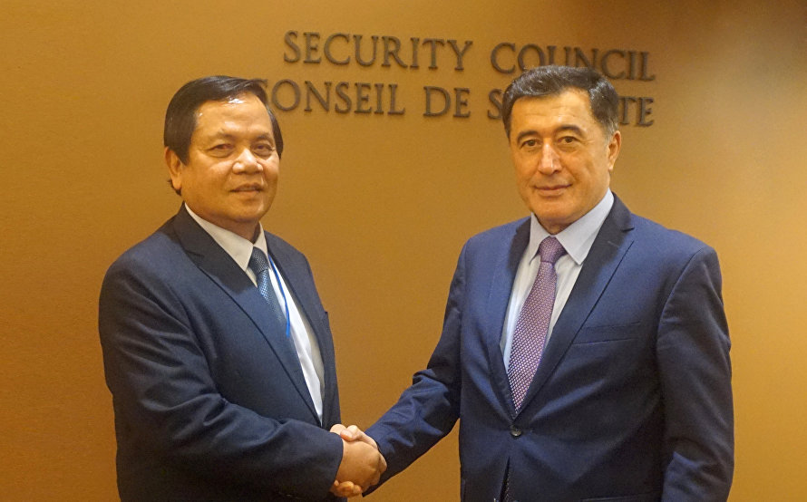 SCO General-Secretary met with Secretary of State of the Cambodia's Minister of Foreign Affairs and International Cooperation