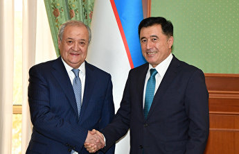 Meeting with Foreign Minister of Uzbekistan