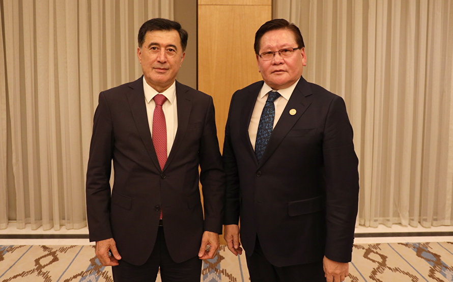 SCO Secretary-General meets with Deputy Prime Minister of Mongolia