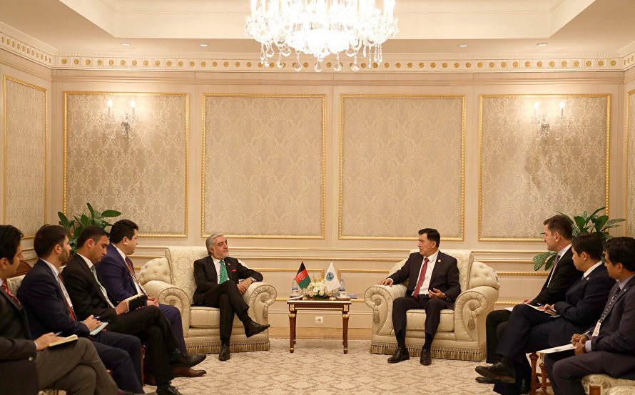 SCO Secretary-General meets with Chief Executive of Afghanistan