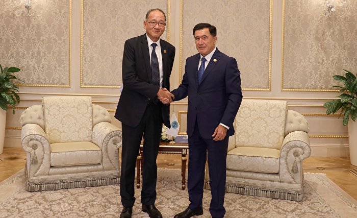 SCO Secretary-General and ESCAP Deputy Executive Secretary discuss promoting cooperation