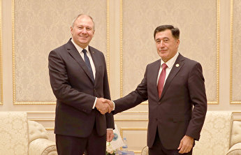 SCO Secretary-General meets with Prime Minister of Belarus