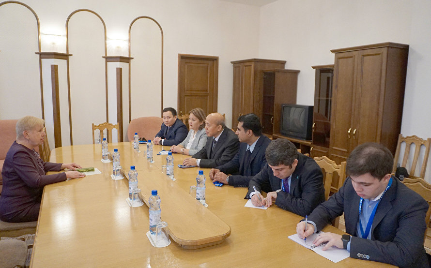 SCO delegation meets with Head of Belarusian Central Election Commission
