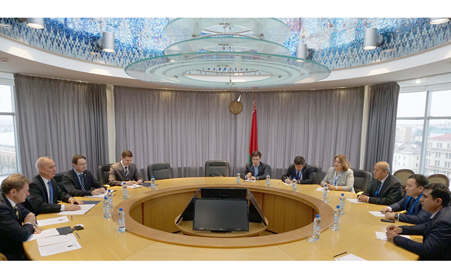 SCO Mission Head meets with Deputy Foreign Minister of Belarus