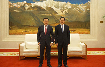 SCO Secretary-General meets with Communist Party Secretary of Yunnan in Kunming